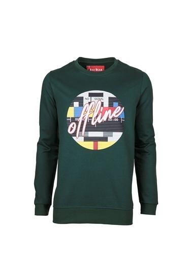 Bad Bear Sweatshirt Yeşil